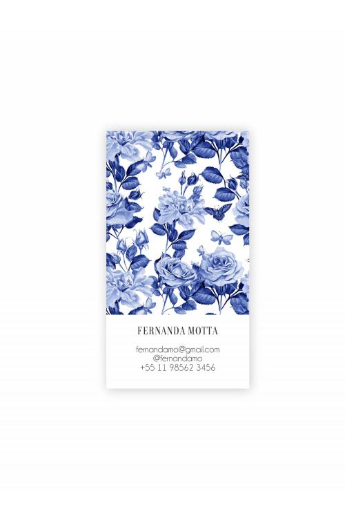 Hello Cards Blue Garden