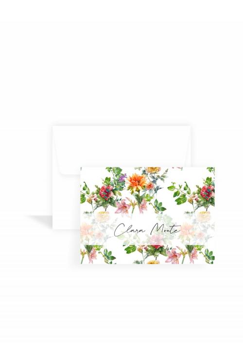 Cartão Jardim Tropical Classic   a partir de 10 unidades