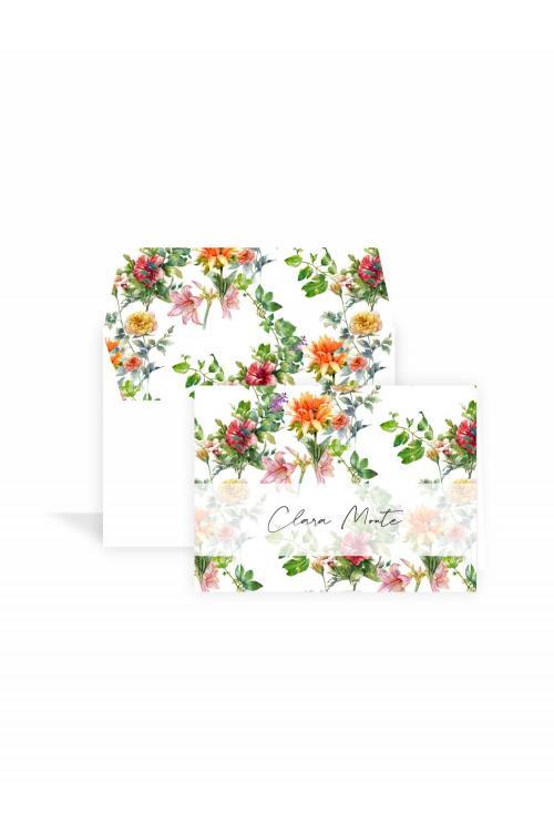 Cartão Jardim Tropical Supreme   a partir de 10 unidades