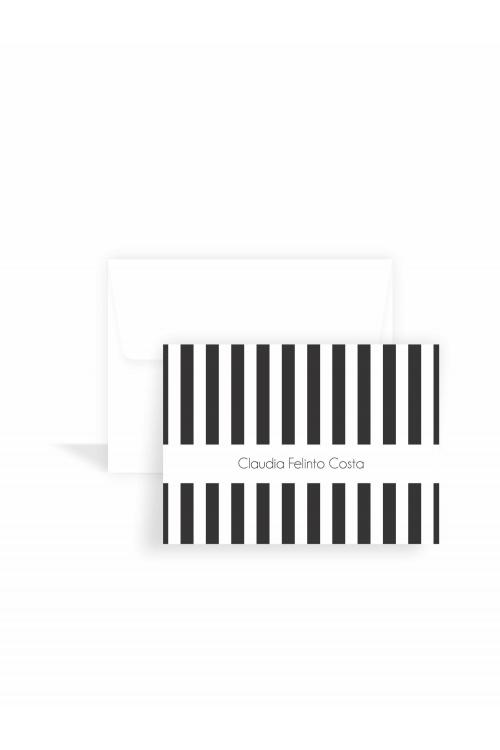 Cartão Simple Black Classic