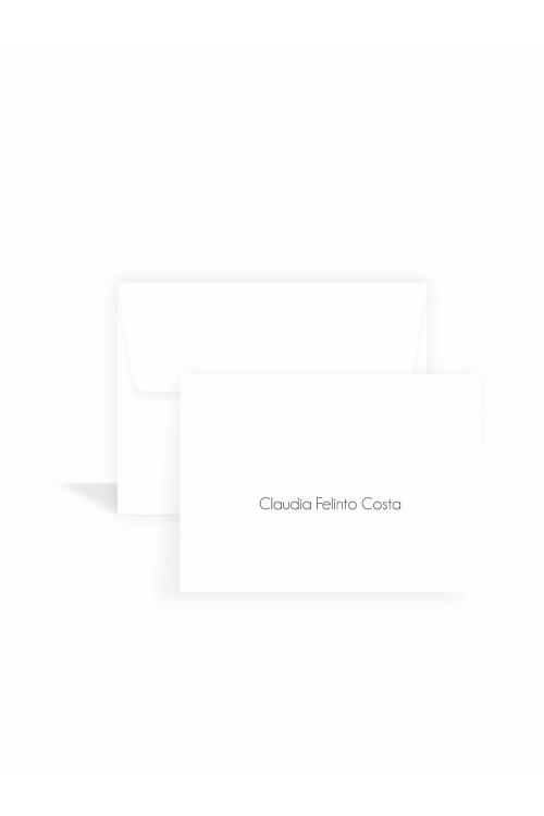 Cartão Tradicional Classic | a partir de 10 unidades