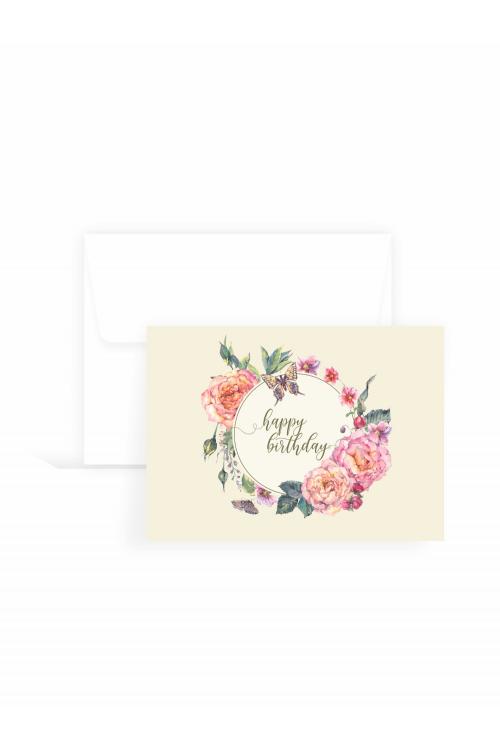 Cartão Delicatto Happy Birthday| 10 unidades
