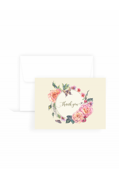 Cartão Delicatto Thank You| 10 unidades