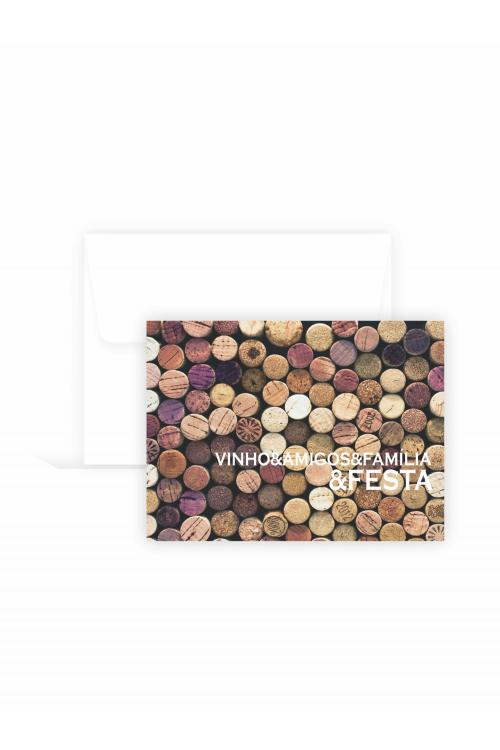 Cartão Drink Wine | 10 unidades